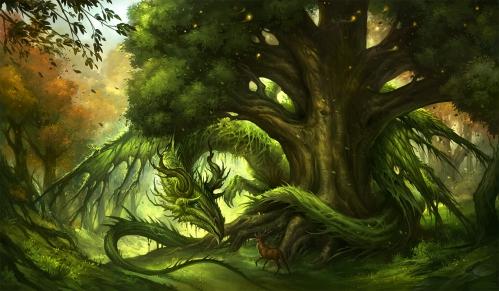 Green dragon by sandara.jpg