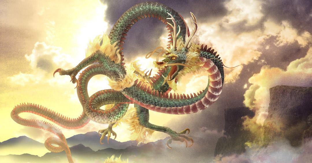 Le long le dragon chinois l 39 encyclop die fantastique - Photo de dragon chinois ...
