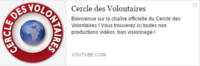 eleutheria.blog4ever.net Cercle des Volontaires meilleur chaine youtube.png