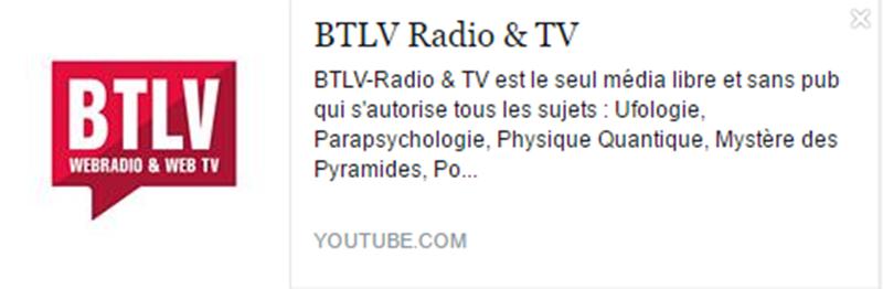 eleutheria.blog4ever.net BTLV Radio & TV meilleur chaine youtube.png