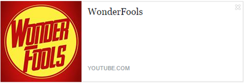 eleutheria.blog4ever.net WonderFools meilleur chaine youtube.png