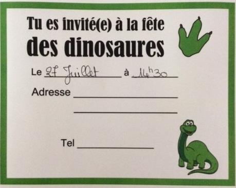 Invitation chasse au trésor dinosaure @ludeek.JPG