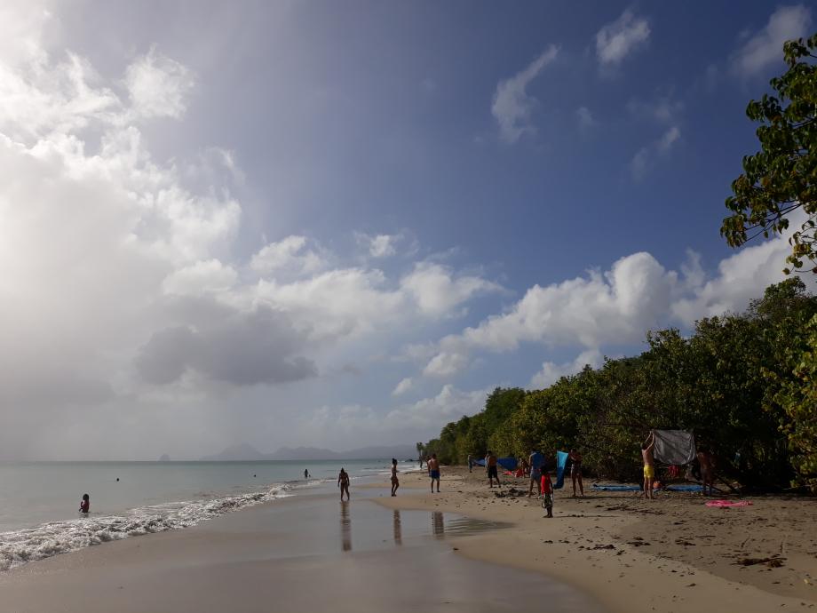 martinique plage de Anse moustique