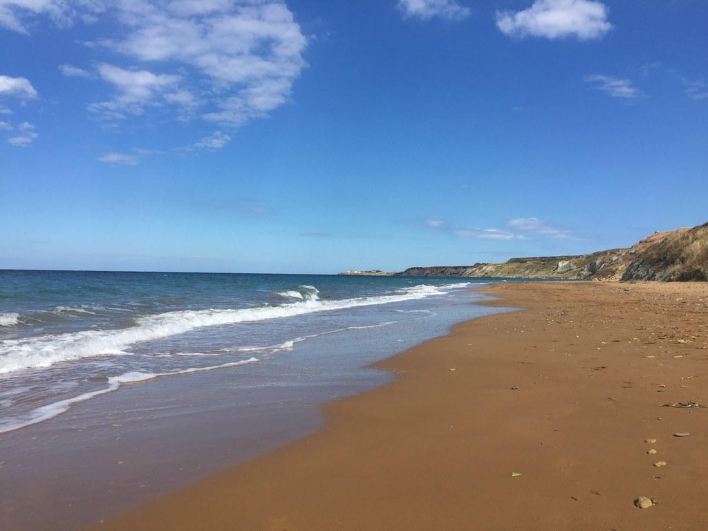 Via capo Colonna avec vue sur le Cap dans une plage inacessible par la terre (Copier).JPG