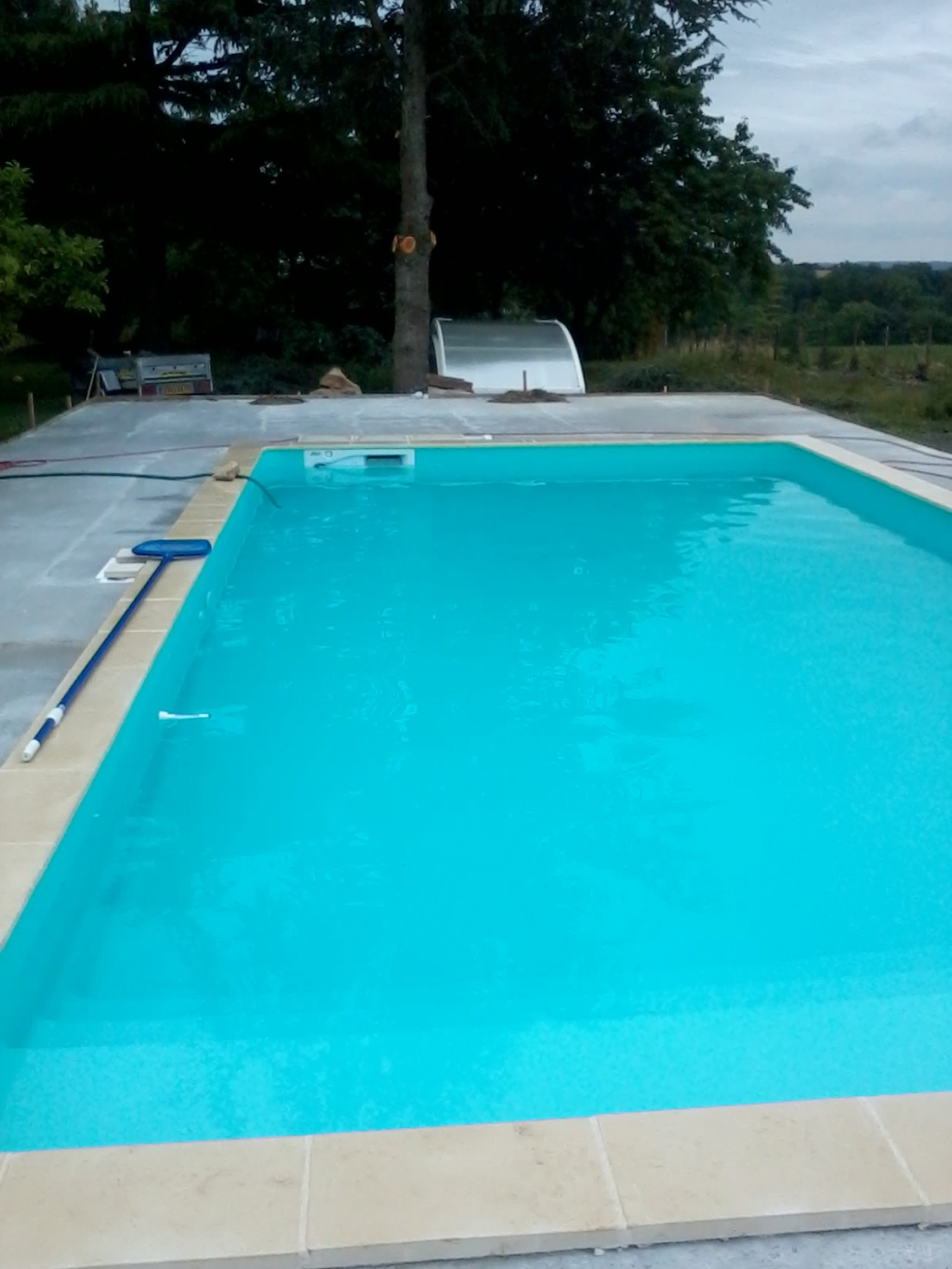 Le remplissage temps attendu 36 h auto construction for Autoconstruction piscine