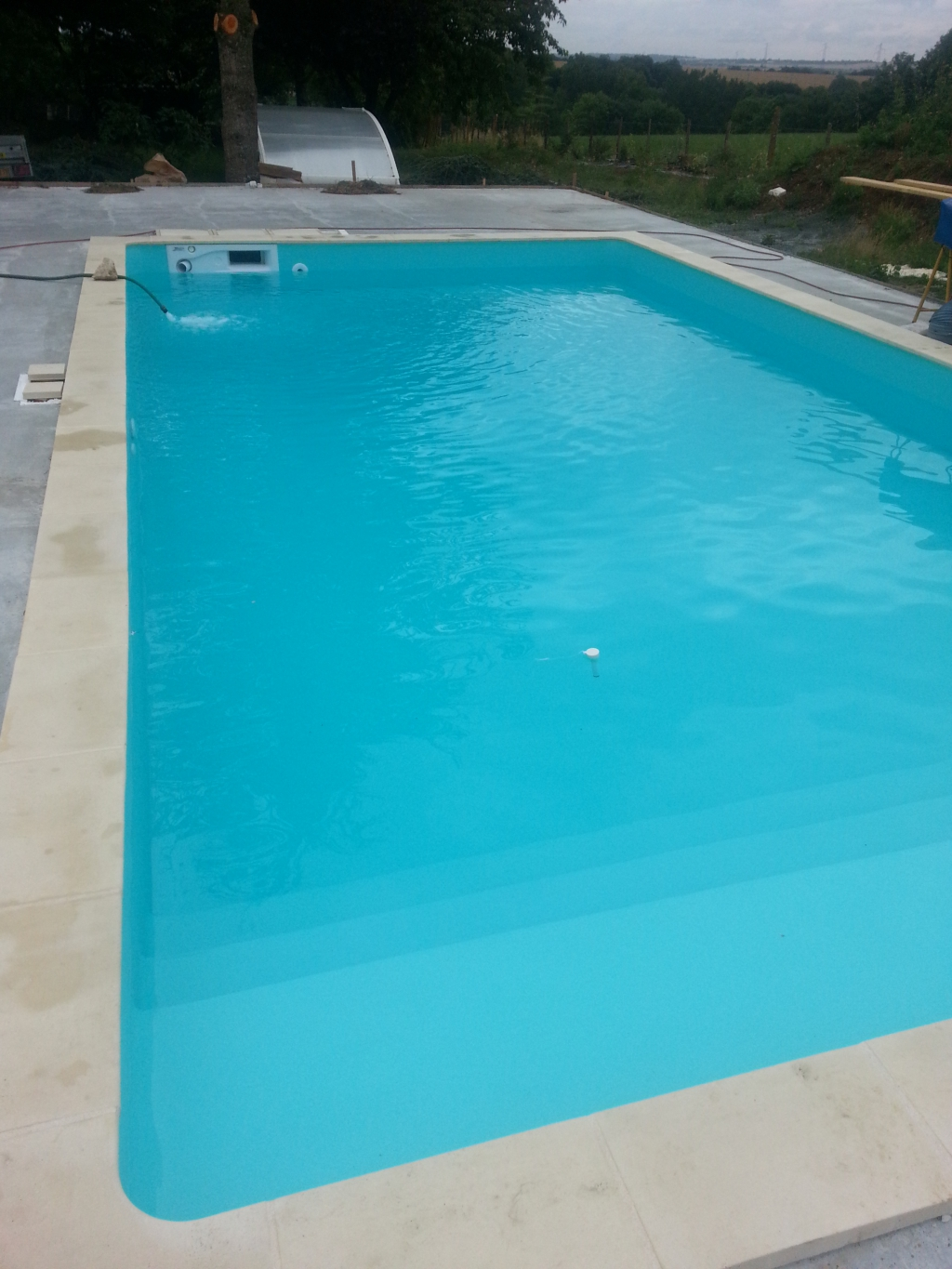 Le remplissage temps attendu 36 h auto construction for Construction piscine magiline