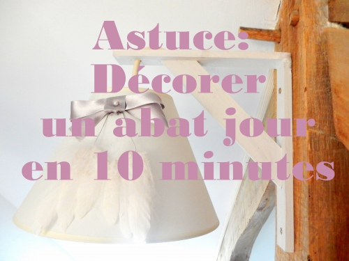 DIY customiser un abat jour