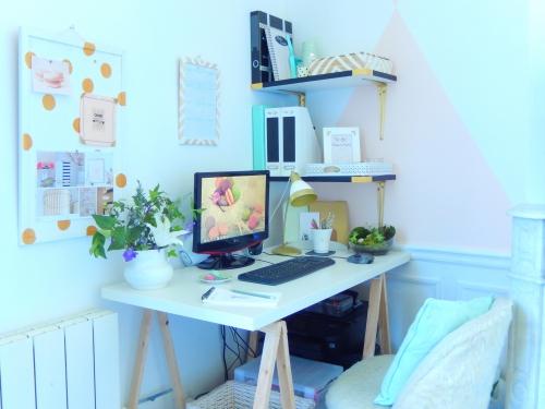 décorer et aménager un petit bureau