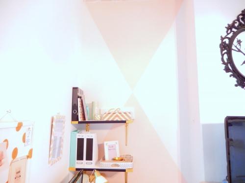 Décorer ses murs avec des triangles