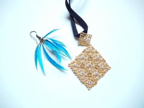 Détourner des vieux bijoux en porte-clés