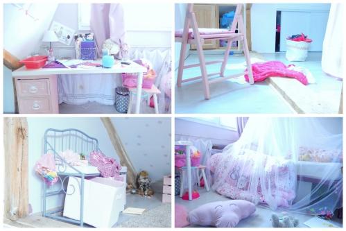 chambre d'enfant en désordre
