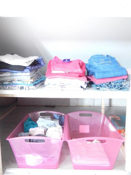 organisation une chambre d'enfant sous les combles 1