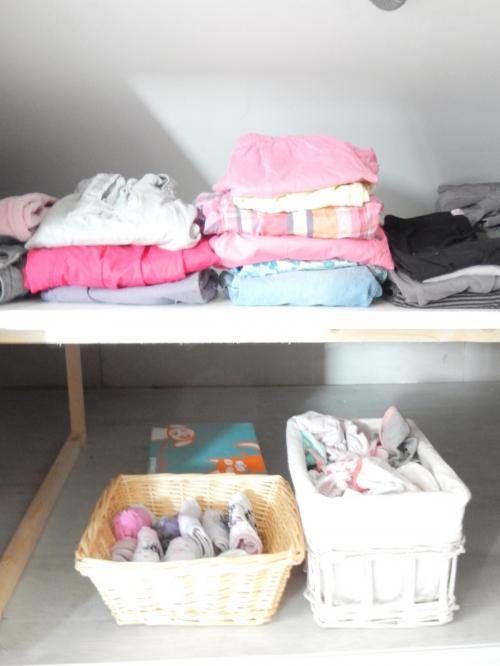 organisation une chambre d'enfant sous les combles 2