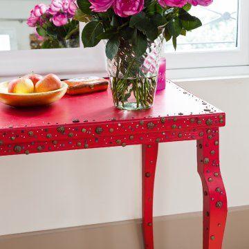diy décorer avec des clous tapissiers 4