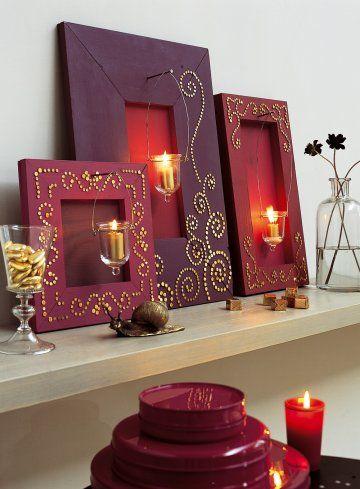diy décorer avec des clous tapissiers 6