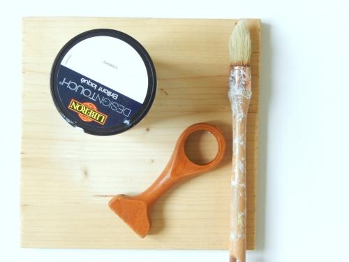 DIY  un présentoir pour bracelets 3