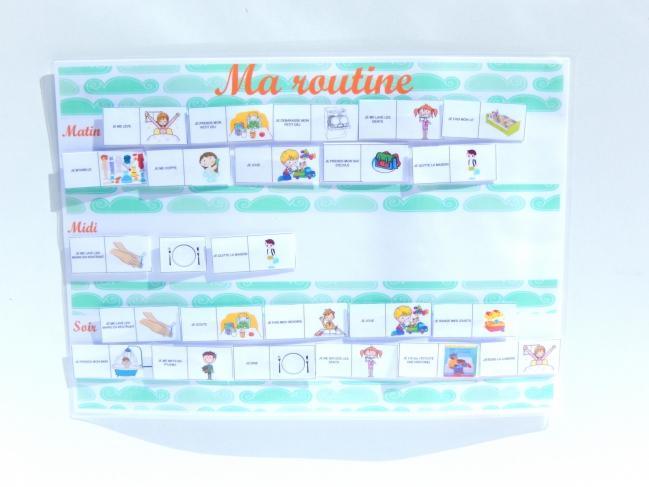 routine enfant free printable  6