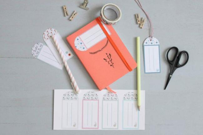 free printable étiquettes