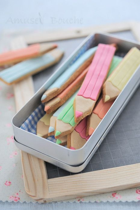 diy biscuits crayons
