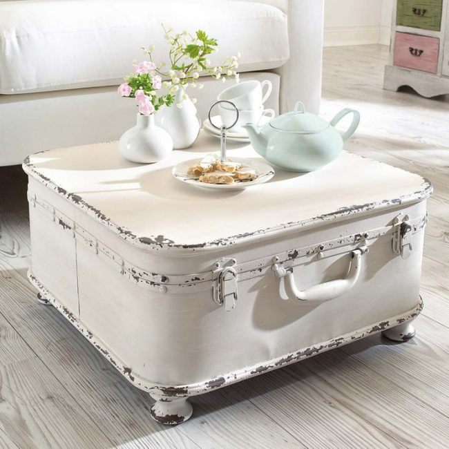 la valise vintage dans la décoration 4