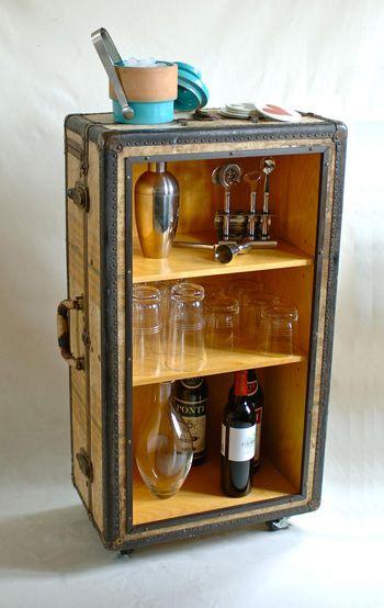 la valise vintage dans la décoration 9