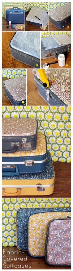 la valise vintage dans la décoration 20