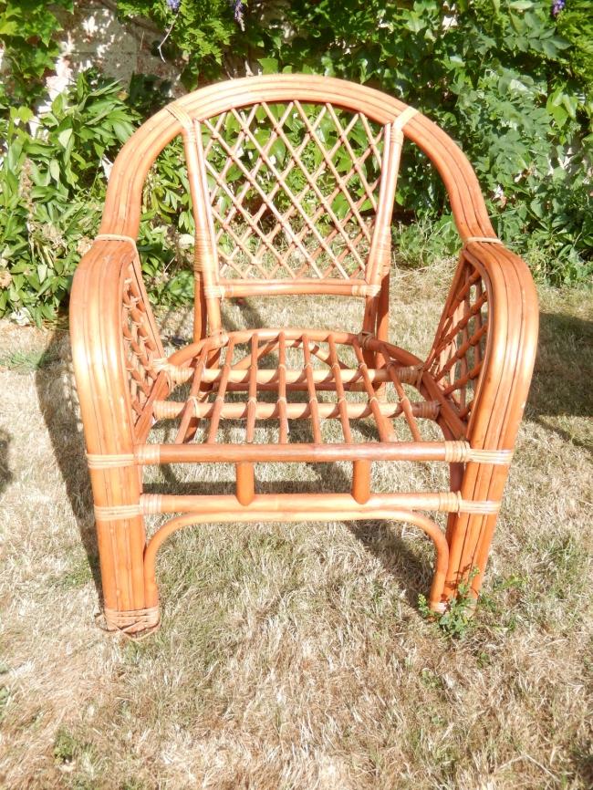 restaurer un fauteuil en osier