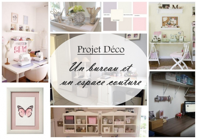 projet home staging bureau+coin couture