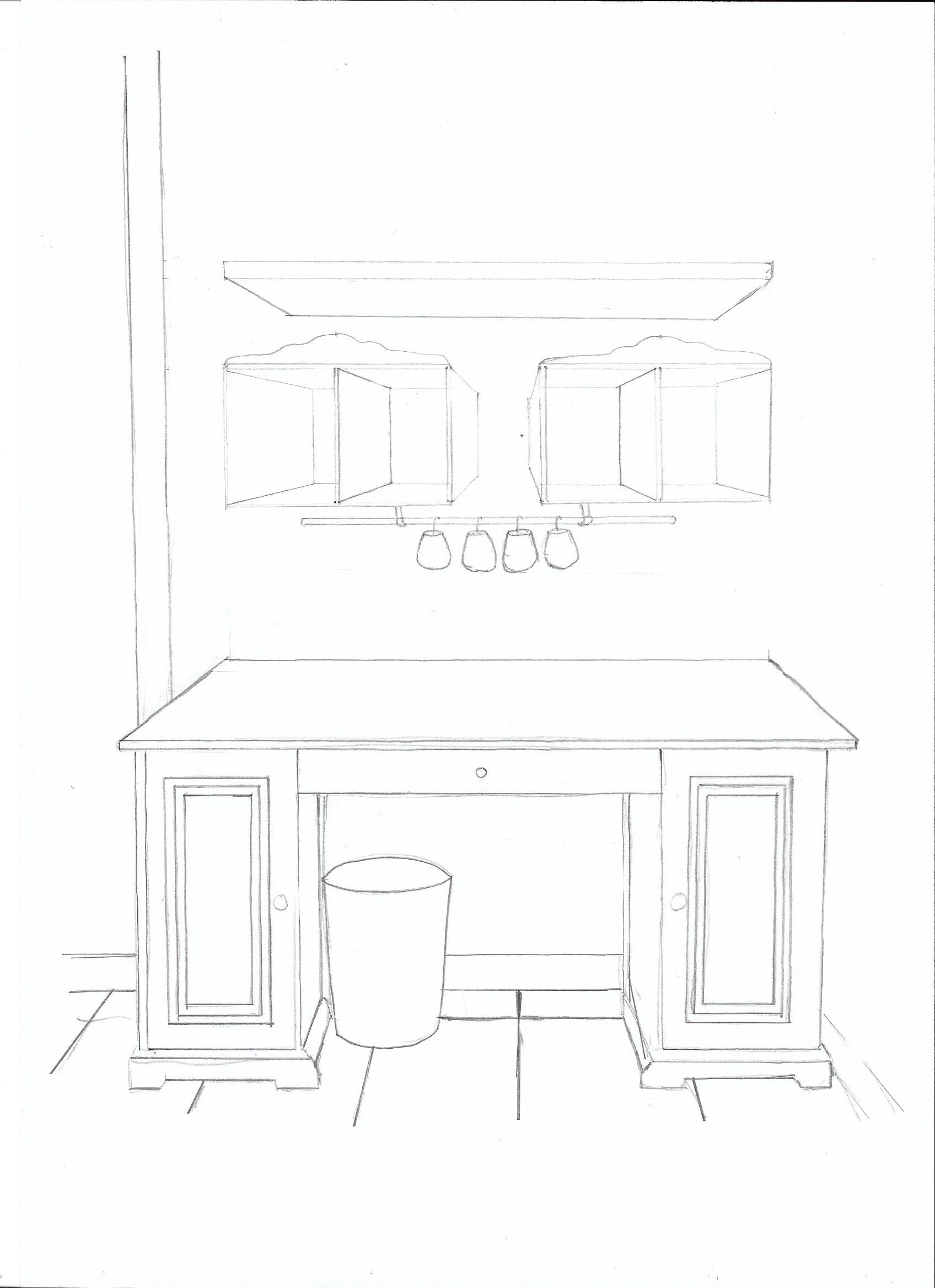 Projet d coration mon carnet d co diy organisation for Dessin de construction du meuble