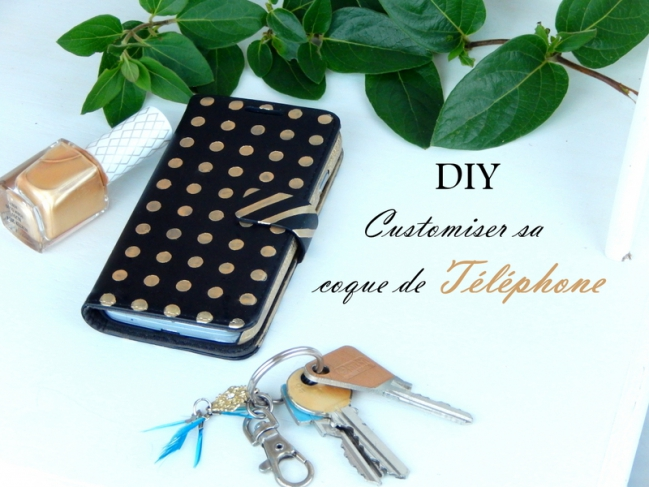 diy customiser une coque de telephone portable