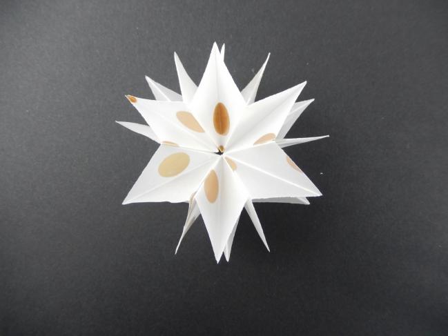 diy une étoile en origami 7