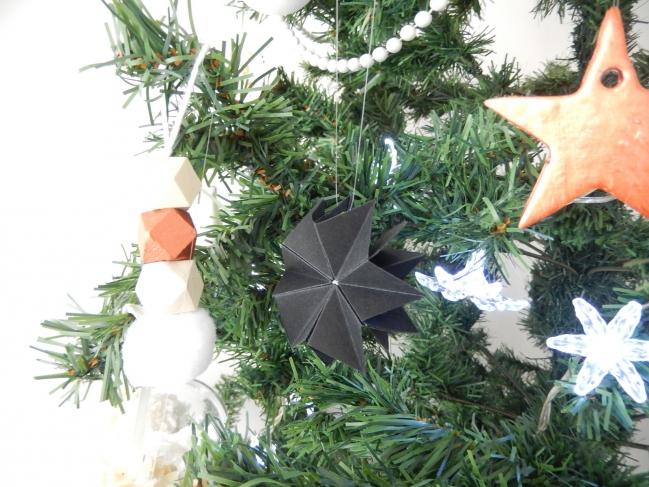 diy une étoile en origami 9