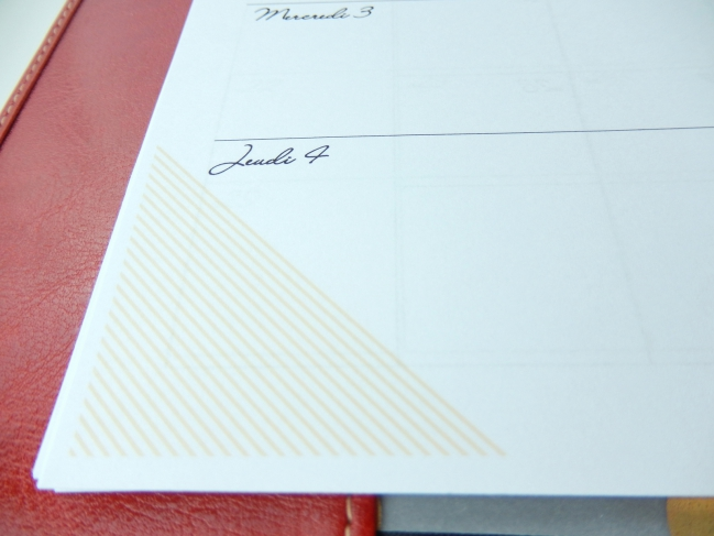 Un agenda à imprimer gratuitement format A5 8