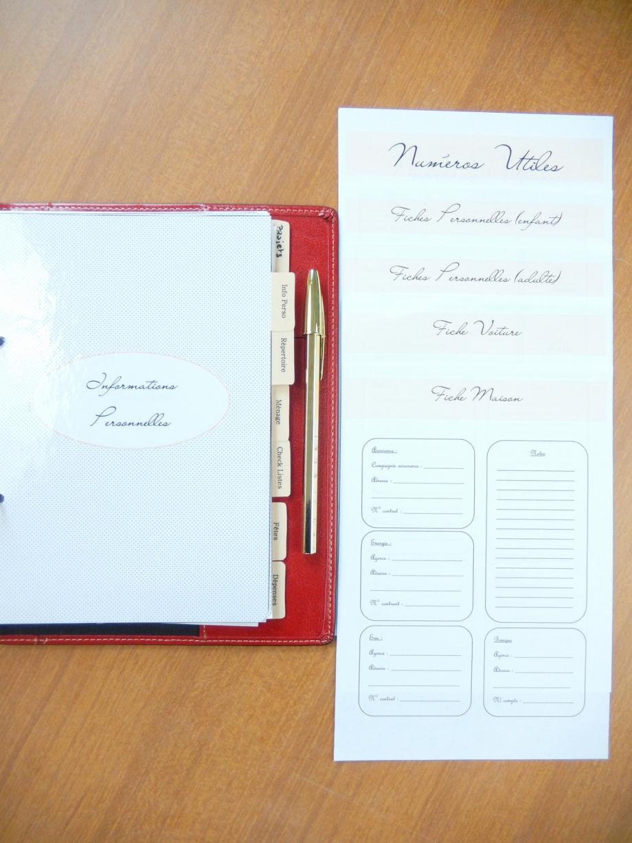 free printable un planner personnalisé