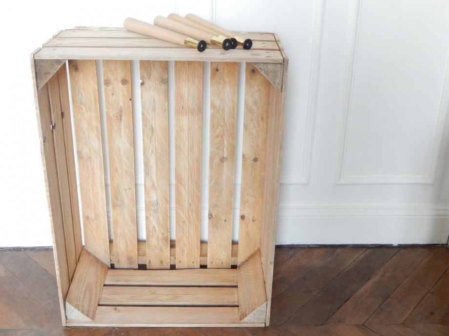 diy etagere caisse bois