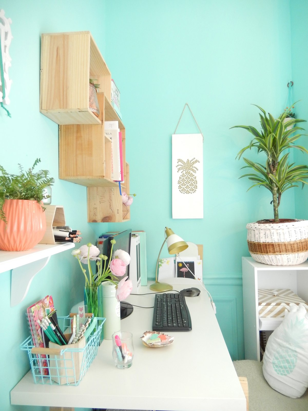 deco un bureau tropical 3