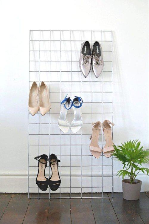 créer un dressing rangement chaussures