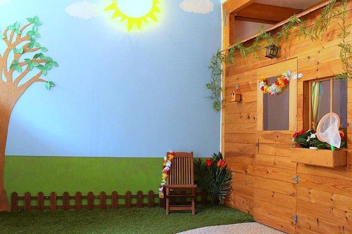 une salle de jeu cabane enfant diy par cendrilène