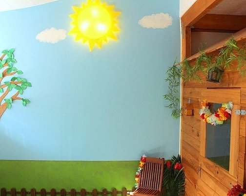 une salle de jeu cabane enfant diy par kid story 3