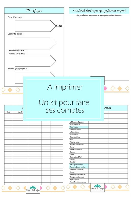 a imprimer un kit de fiches pour s 39 organiser mon carnet d co diy organisation du quotidien. Black Bedroom Furniture Sets. Home Design Ideas
