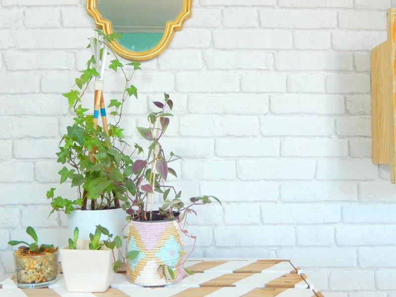 diy un tuteur façon tipi pour plantes grimpantes 1