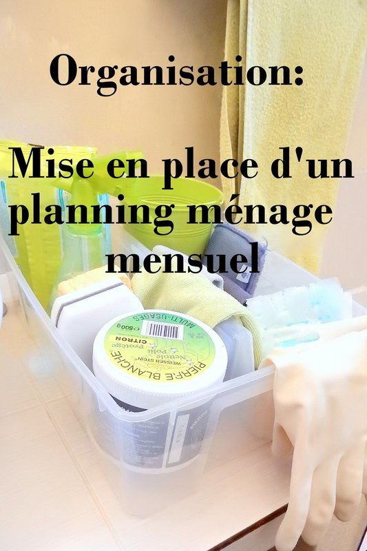 organisation m nage mise en place d 39 un m nage mensuel fiches imprimer mon carnet d co. Black Bedroom Furniture Sets. Home Design Ideas