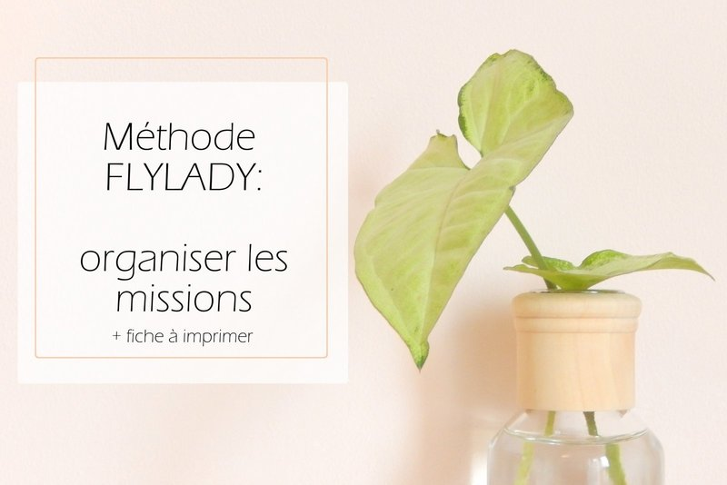 methode flylady organiser les missions