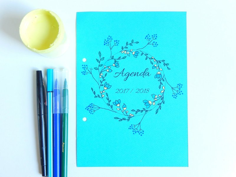 idees pour decorer son bullet journal ou planner 5