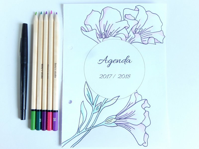 idees pour decorer son bullet journal ou planner 7