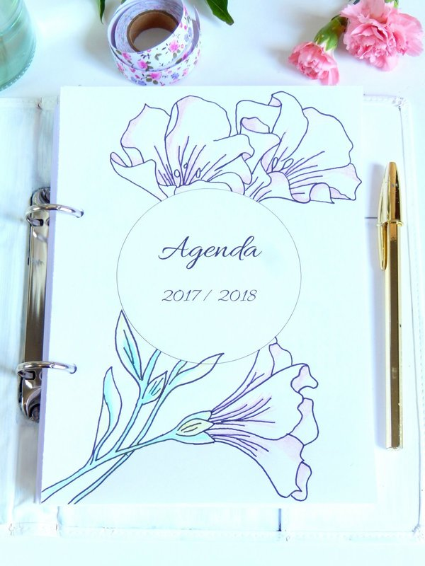 idees pour decorer son bullet journal ou planner 8