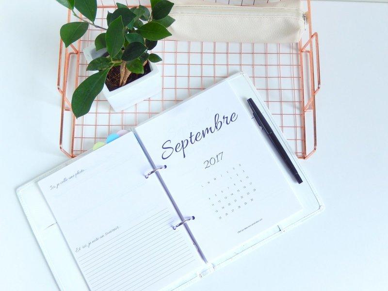 astuces pour utiliser un agenda pour s'organiser 2