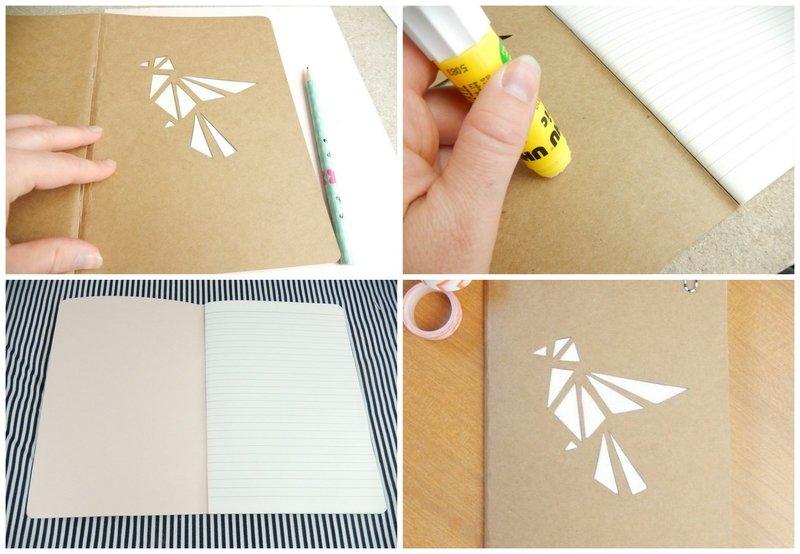 diy un carnet façon origami 1