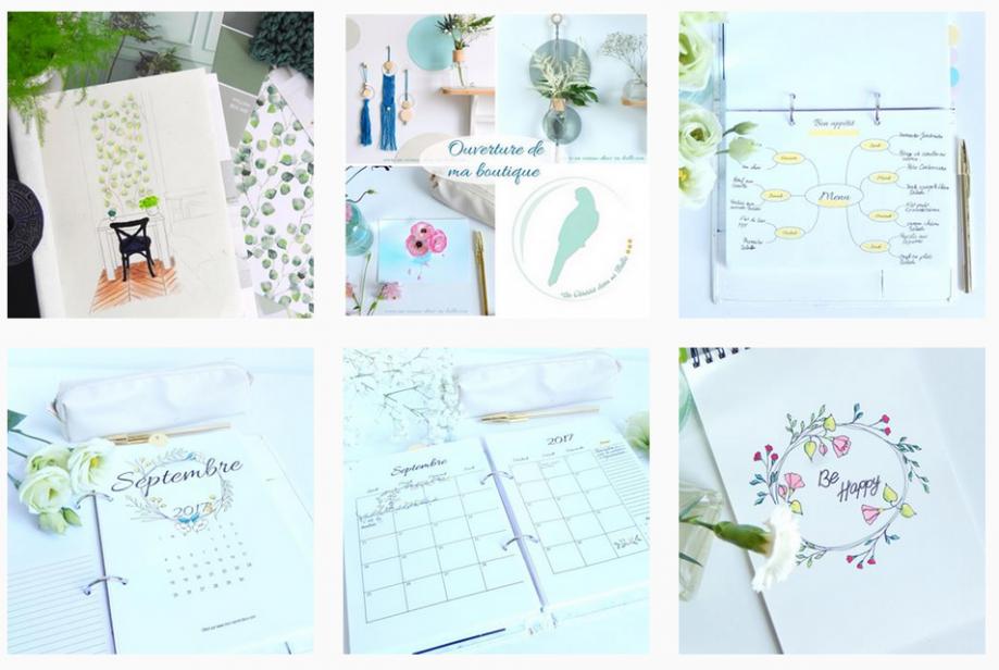 Instagram mon planner creatif