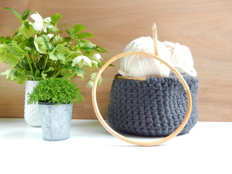 diy un panier style scandinave au crochet